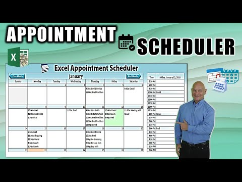 How To Create A Dynamic Appointment Scheduler In Excel [Part 1]