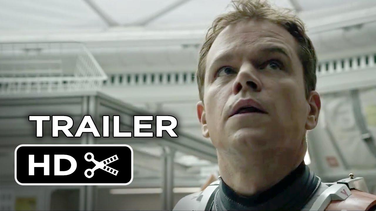 Download The Martian TRAILER 1 (2015) - Matt Damon, Jessica Chastain Movie HD