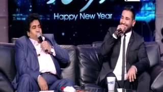 اخر النهار | سلطان الطرب الشعبي عدوية يحيي خالد صلاح بموال مخصوص له علي الهواء