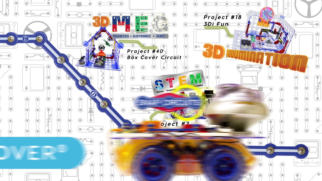 Snap Circuits 3di Stem And Rover Youtube Circuit Light By Elenco Ebeanstalk