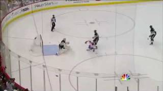 Mike Cammalleri breakaway goal agaisnt Pittsburgh in game 2
