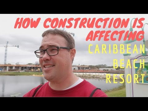 How Construction is Affecting Disney's Caribbean Beach Resort