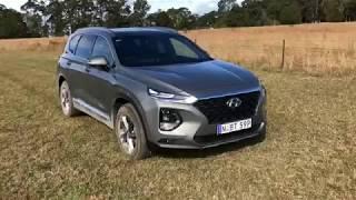 New Hyundai Santa Sport walkaround 2018 review