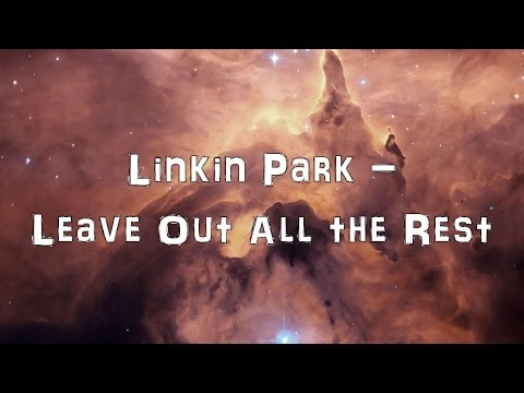 Linkin Park - Leave Out All The Rest [Acoustic Cover.Lyrics.Karaoke]