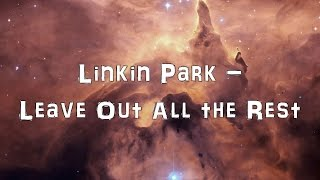 Скачать Linkin Park Leave Out All The Rest Acoustic Cover Lyrics Karaoke
