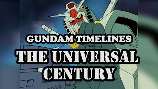 What is the Universal Century? [Gundam Timelines]