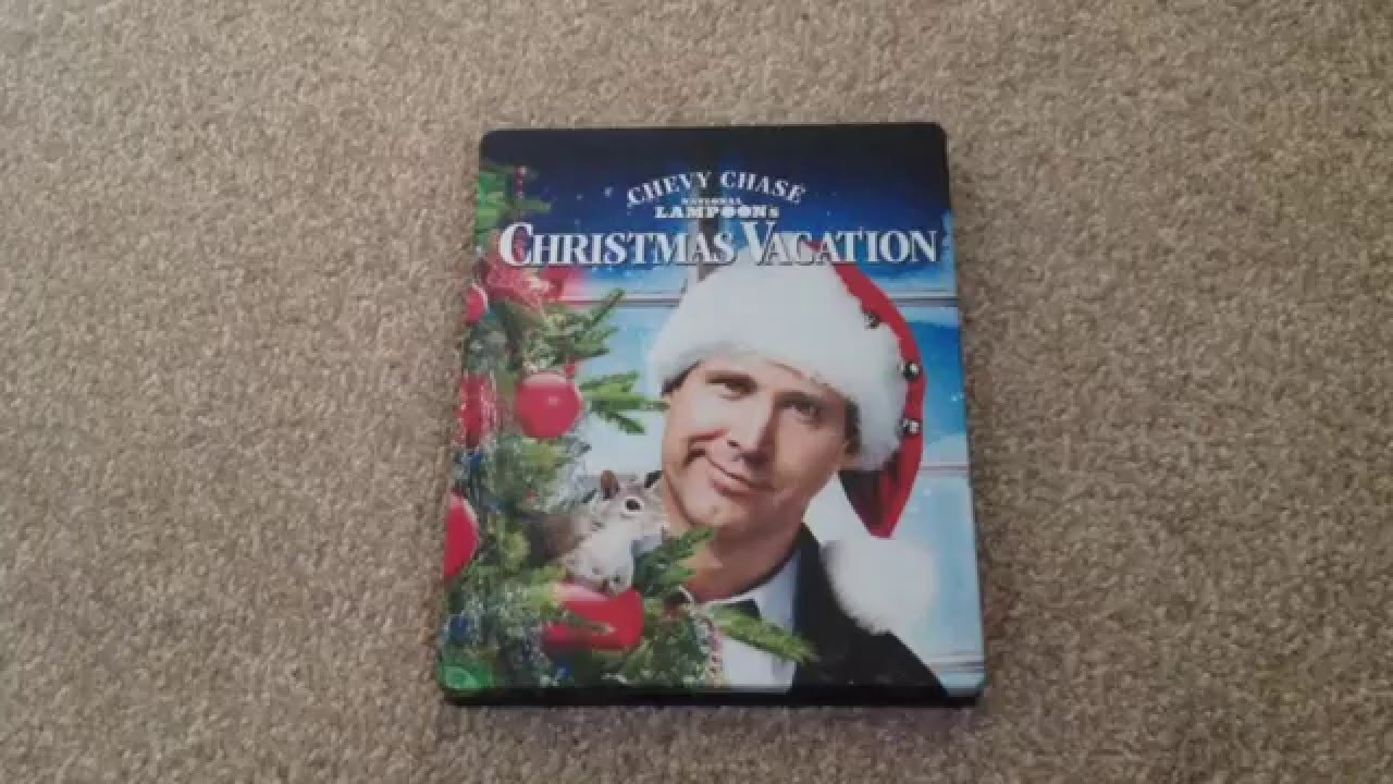 Christmas vacation blu-ray steelbook unboxing - YouTube