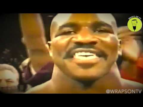 The real deal Holyfield tribute.