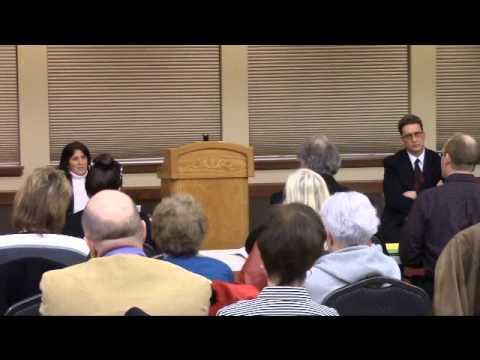 Waupaca County Judge Forum Keith Steckbauer and Vicki Clussman 03-12-14