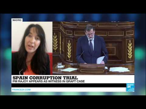 "Spain Corruption Trial: ""a difficult day for PM Rajoy"", appearing as witness in case"