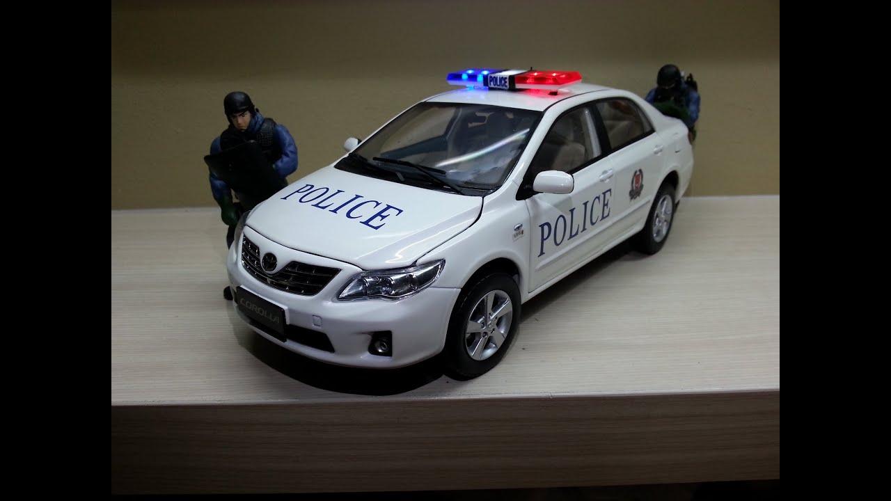 Singapore Police Fast Response Car Toyota Altis Model Youtube
