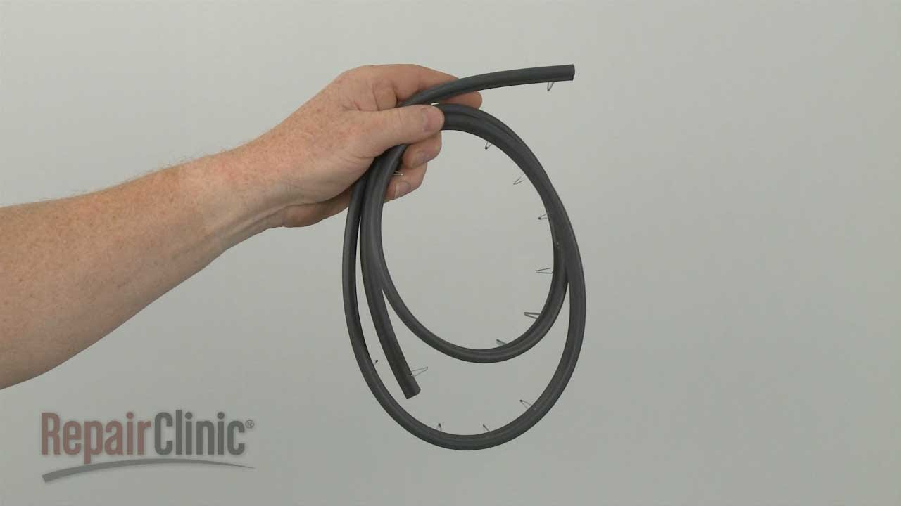 Ge Gas Range Oven Door Seal Replacement Wb32k10036 Youtube