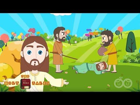The Good Samaritan I New Testament Stories I Animated Children's Bible Stories