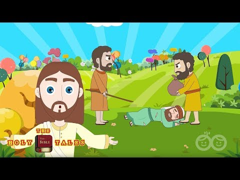 The Good Samaritan I New Testament Stories I  Children's Bible Stories| Holy Tales Bible Stories