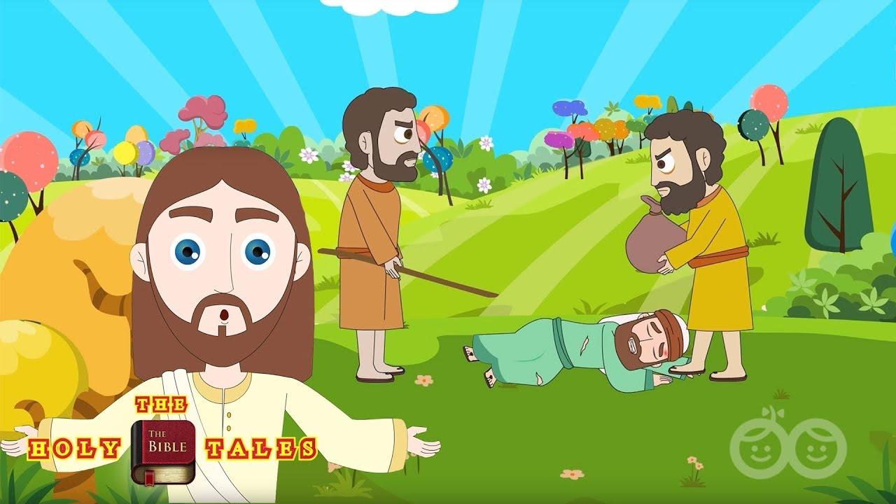 The Good Samaritan I New Testament Stories I Children S Bible