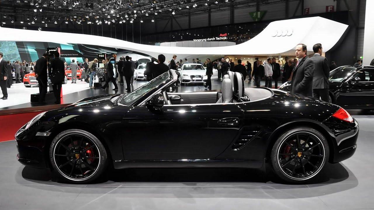 Porsche 911 Models >> 2011 Porsche Boxster S Black Edition (2011 Geneva Auto Show) - YouTube