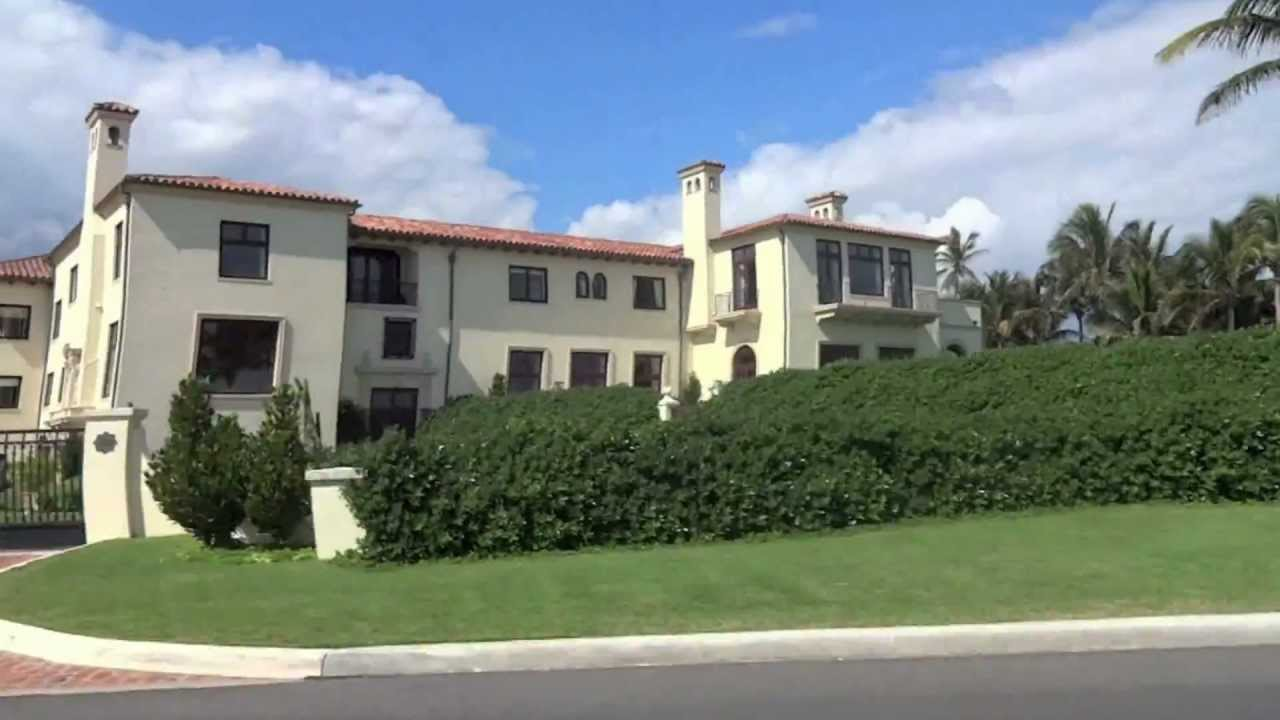 Palm Beach Florida Mansions - YouTube