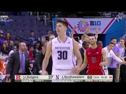Men's Basketball  - Rutgers B1G Tournament Game Highlights (03/09/17)