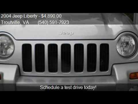 2004 Jeep Liberty Limited 4WD 4dr SUV for sale in Troutville