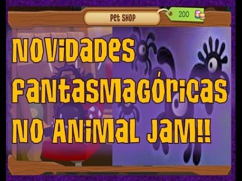 NOVIDADES FANTASMAGÓRICAS NO ANIMAL JAM!!