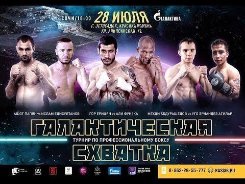 Турнир по профессиональному боксу (Сочи)