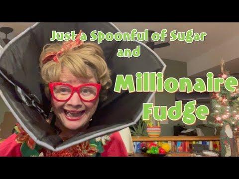 COOKIN' WITH NETTIE - MILLIONAIRE FUDGE