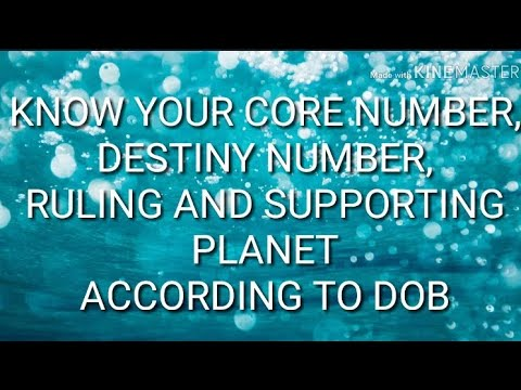 Numerology Destiny Number