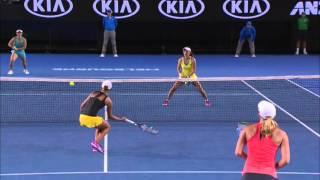 Rodionova/Rodionova v Zheng/Xu match highlights (QF) | Australian Open 2016