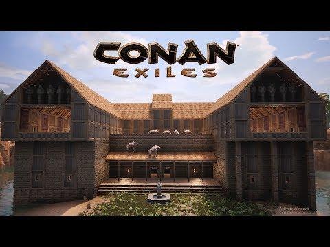 Conan Exiles - Kappa House 🐢 (Speed Build)