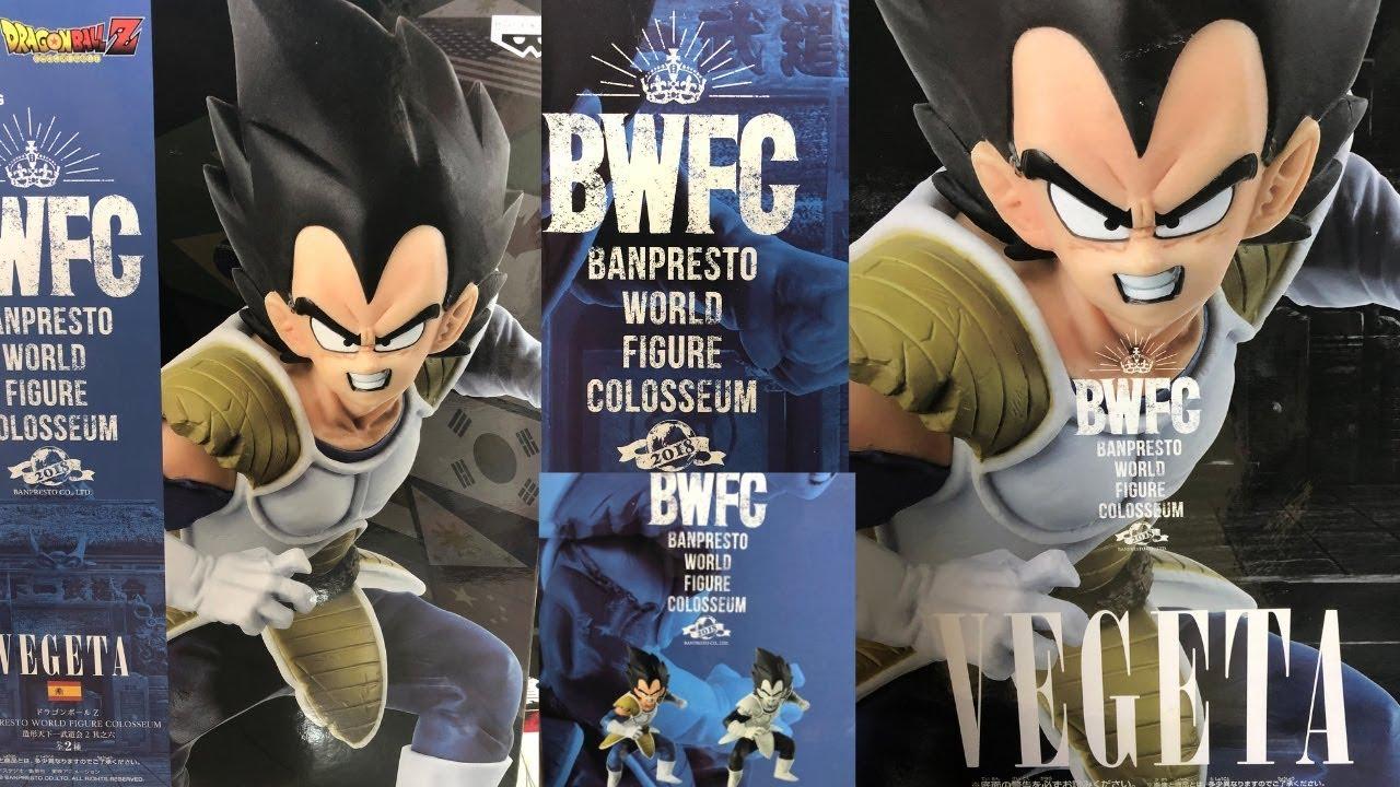 Download VEGETA BWFC Figure Dragon Ball Z BANPRESTO Unboxing