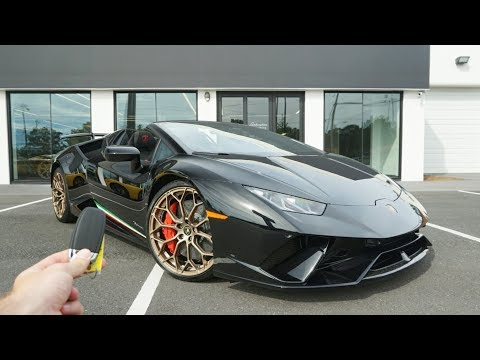 2019 Lamborghini Huracan Performante Spyder: Start Up, Exhuast, Walkaround and Review
