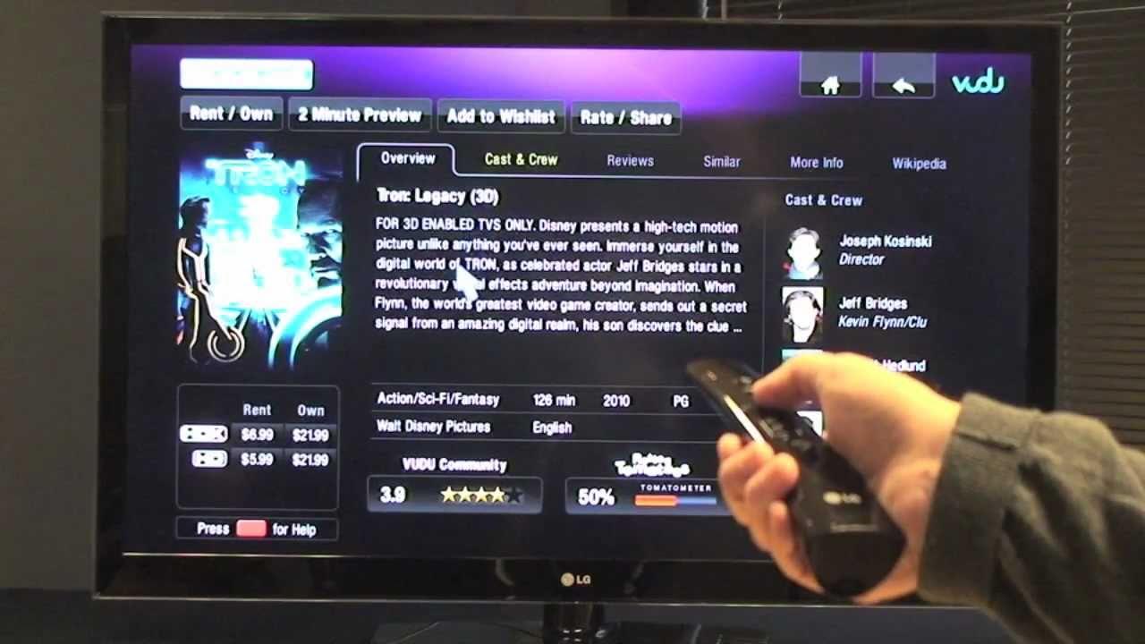 LG Smart TV Freespace Demo