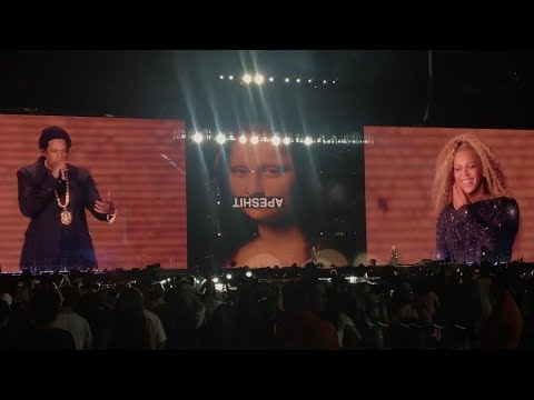 Beyoncé and Jay-Z - Forever Young / Apeshit On The Run 2 East Rutherford, New Jersey 8/2/2018