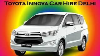 Book Innova Car on Rent, Toyota Innova Car Hire Delhi