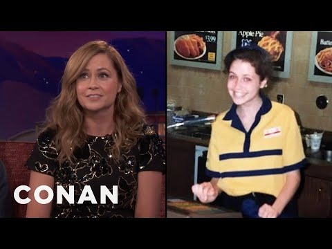 Jenna Fischer Broke The Glass Ceiling At Long John Silver's   CONAN on TBS
