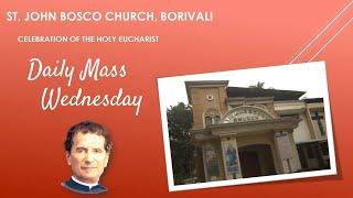 Daily Mass - Wednesday 04 August 2021 | ST JOHN BOSCO CHURCH BORIVALI