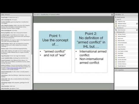 OLS HLP Session 4 - Qualification of Armed Conflict and Determining the Applicable Law