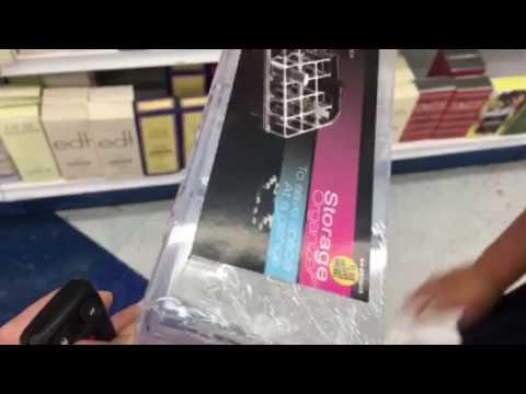 99 Cent Store Finds Makeup Organizer