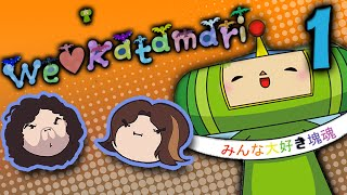 We Love Katamari: Landing on the Moon - PART 1 - Game Grumps