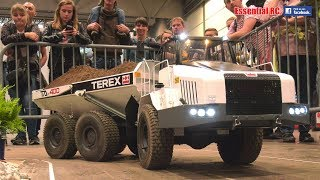 BIGGEST radio controlled (RC) TEREX DUMPER TRUCK IN ACTION !