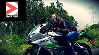 Benelli 302R First Ride Review Walkaround Exhuast Note, vs R3 & Ninja 300