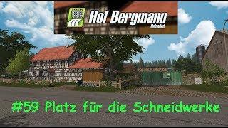 LS17 | Hof Bergmann 1.0.0.4 | #59 Platz für die Schneidwerke