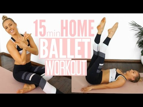 15min BALLET WORKOUT | At Home Full Body Workout