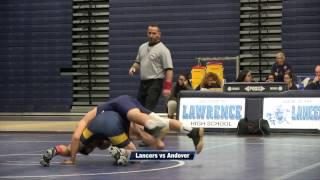 LHS Wrestling vs Andover 2017