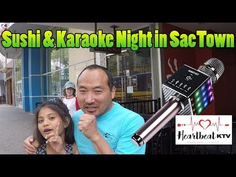 Sushi & Karaoke Night In Sacramento