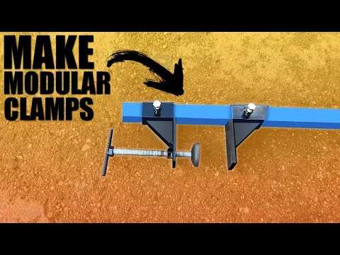 How to Make a Modular Long Bar Clamps
