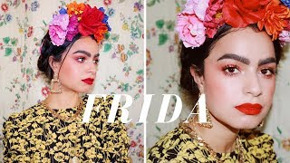 THE MODERN FRIDA KAHLO (MAKEUP, HAIR, OUTFIT)