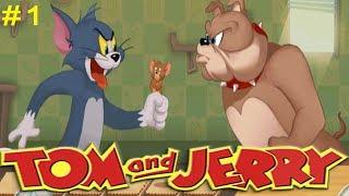 Том и Джерри # 1 (уровни 1-10) Красочные Догонялки Детское видео Игровой мультик Let's play