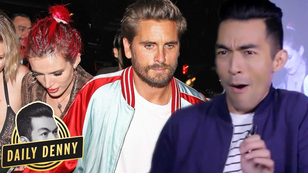 Scott Disick and Bella Thorne party together in LA