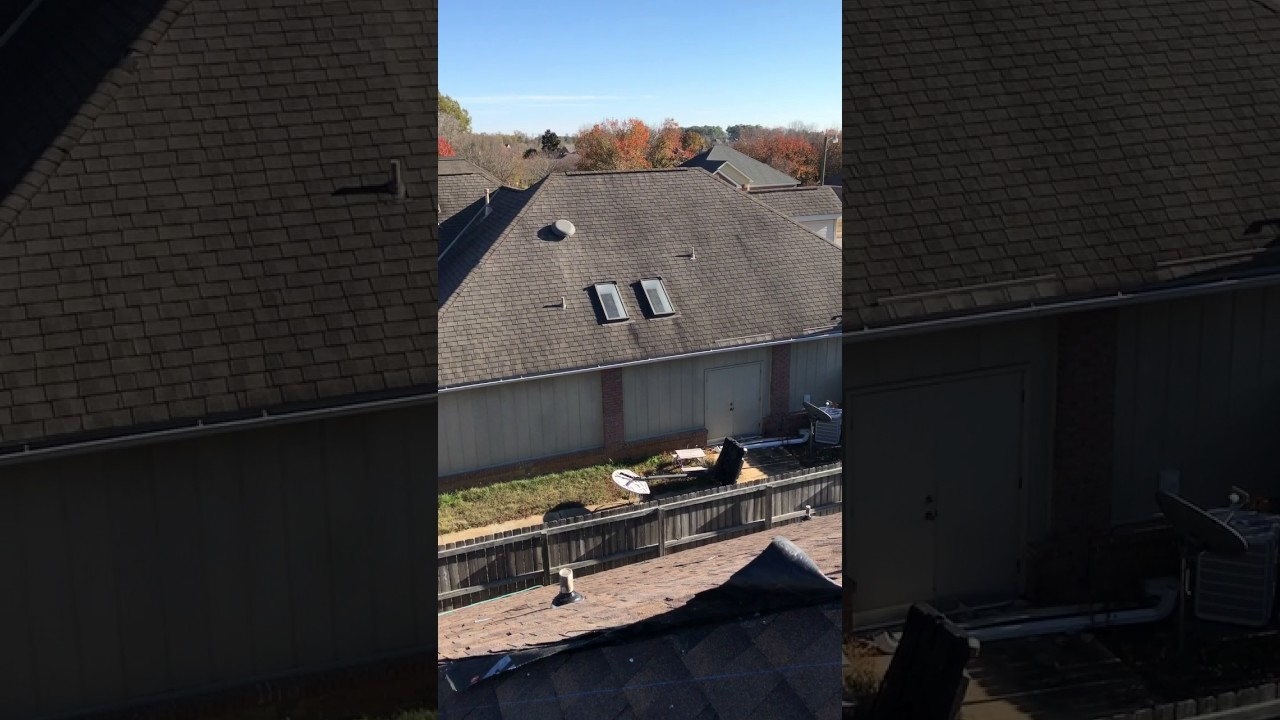 Gaf Barkwood Roof Replacement In Montgomery Al Alabama Roofing Contractor Guyette And Construction